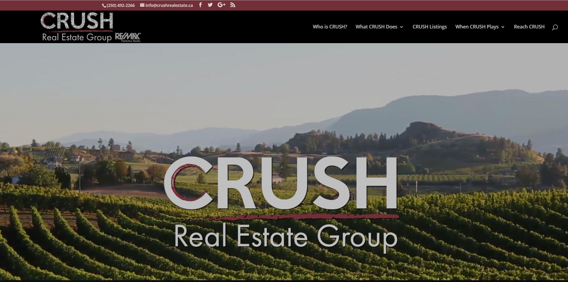 hamilton website design for real estate