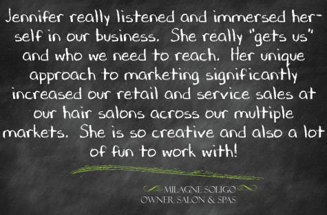 hair salon spa marketing hamilton